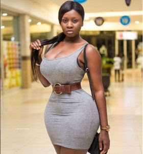 Check Out The Curves On Gambian Ghana-Based Actress, Princess Shyngle (Photos)