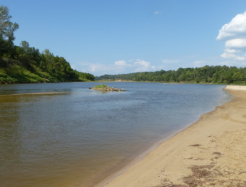 the Red River, Bossier Parish, looking north by trudeau