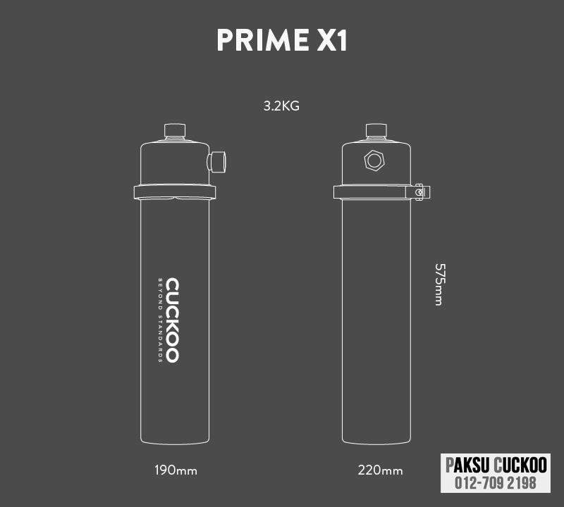 spesifikasi penapis air luar rumah perak cuckoo outdoor water filter yang terbaik murah berkualiti dengan jaminan dari cuckoo malaysia