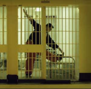 Stretching Behind Bars
