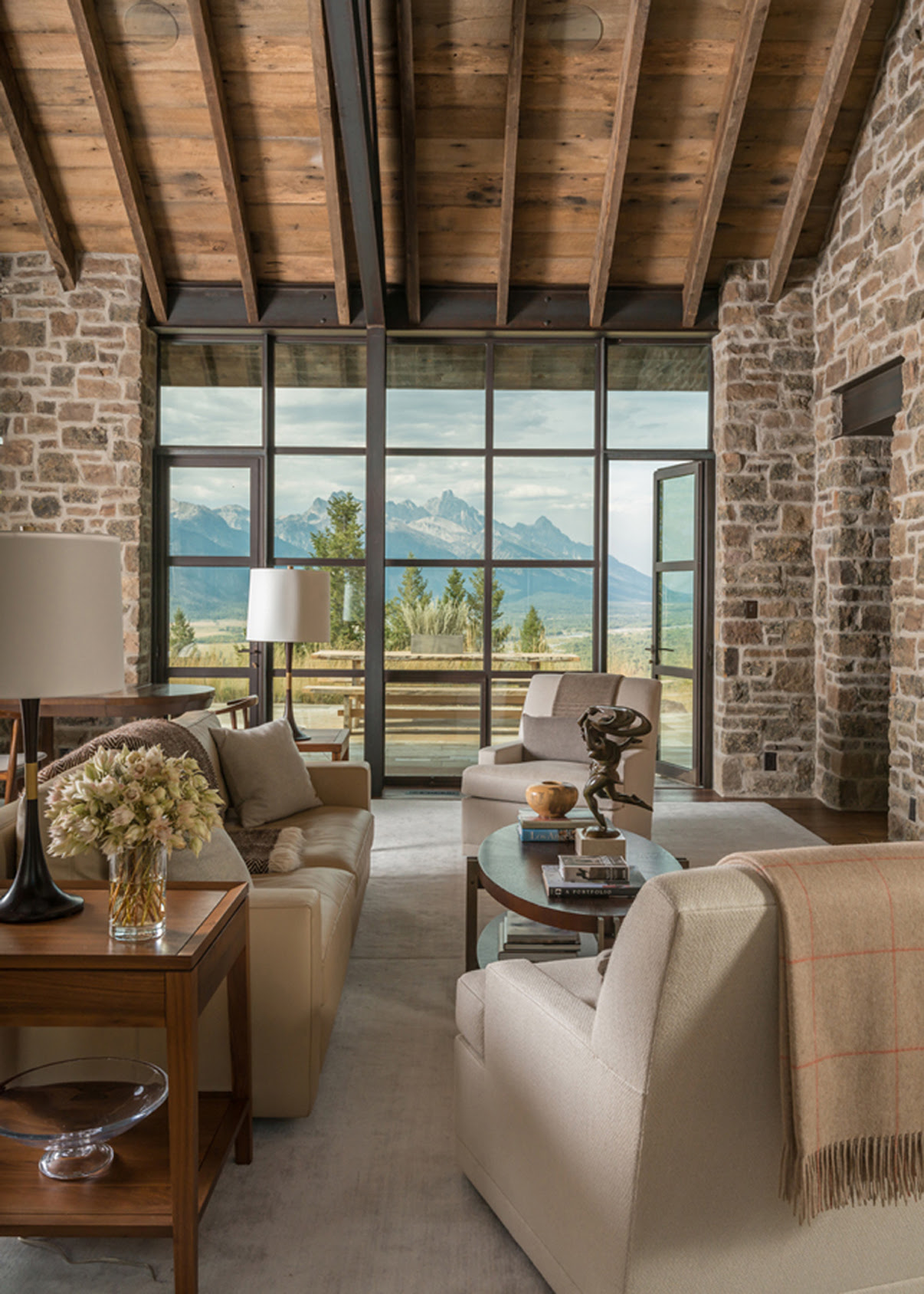WRJ Design Jackson Hole Home Interiors Featured in New ...