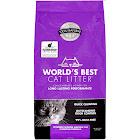 World's Best Cat Litter Lavender Scented Multiple Cat Clumping Formula 15 lb