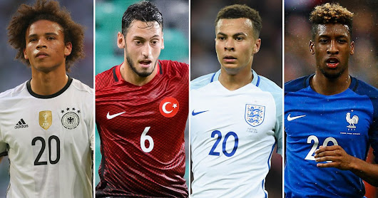 Euro 2016: 10 young stars set to make a splash at Europe's showpiece tournament