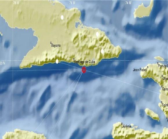 Un sismo de magnitud 6,6 sacude Cuba