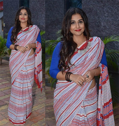 4 Times Vidya Balan Inspired Us To Wear Indian Sarees - Fashion Twist & Turns