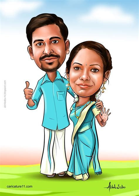 India wedding caricature   wedding caricature in 2019