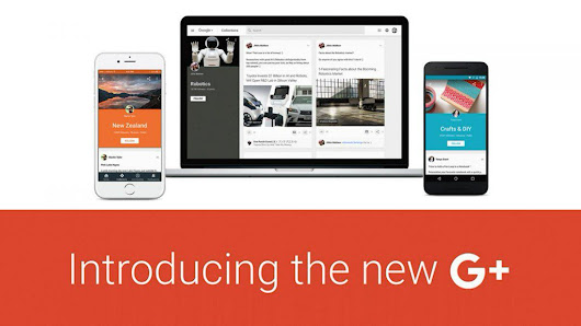 "techradar on Twitter: ""Google+ is getting a makeover, hoping you'll notice/care  """