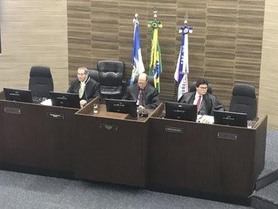 Rogério Nascimento (MPF) e Abel Gomes (TRF2): procurador e presidente da 1ª Turma