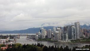 View of Vancouver