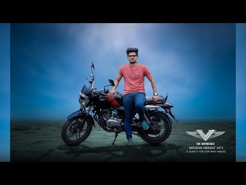 PHOTOSHOP MANIPULATION TUTORIAL | INS VIKRANT | AWESOME WITH BIKE PHOTO ...