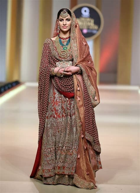 Traditional Pakistani Bridal Dress by HSY Bridal Collection