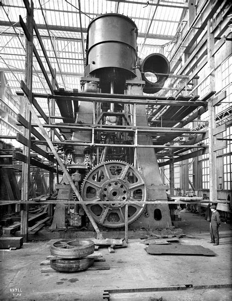 One of the Titanic's Steam Engines | Harland & Wolff's