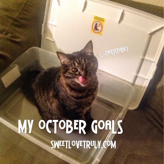 My October Goals: More Decluttering, More Reading, and a Charity Walk