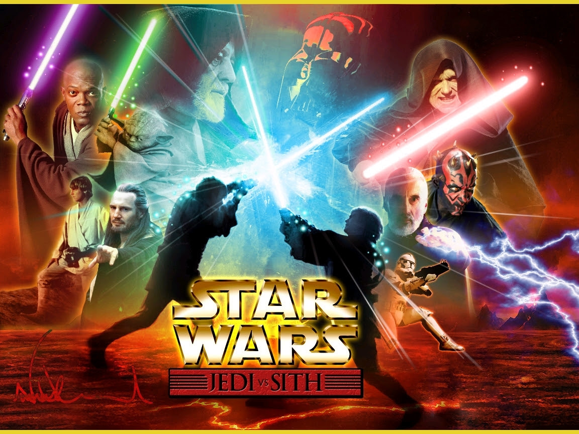 Jedi Vs Sith Bintang Wars Wallpaper 2912035 Fanpop