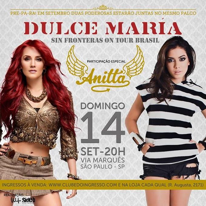 1521939_754555904583477_2897288692744454142_n Anitta fará participação especial no show da Dulce María em São Paulo