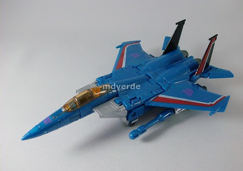 Transformers Thundercracker Classics Henkei - modo alterno (by mdverde)