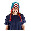 Captain America Knit Laplander Hat