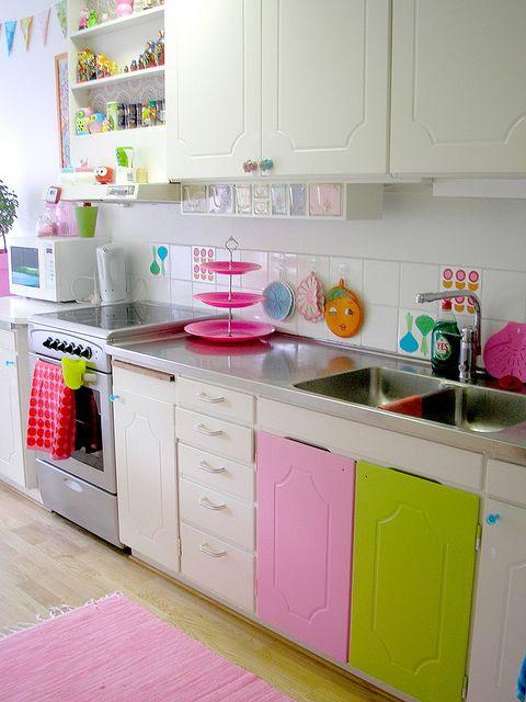 Pink Friday -  Parece cozinha de boneca de tão linda!