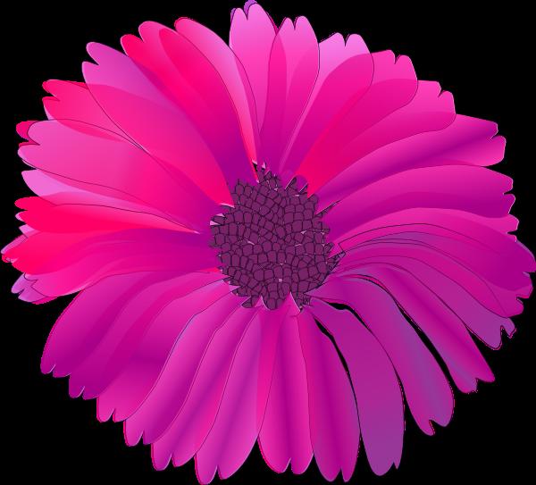 flower clip art. Pink Flower clip art