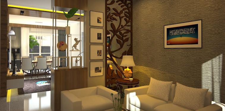 Desain Ruang Keluarga Dengan Ruang Makan Terbaru