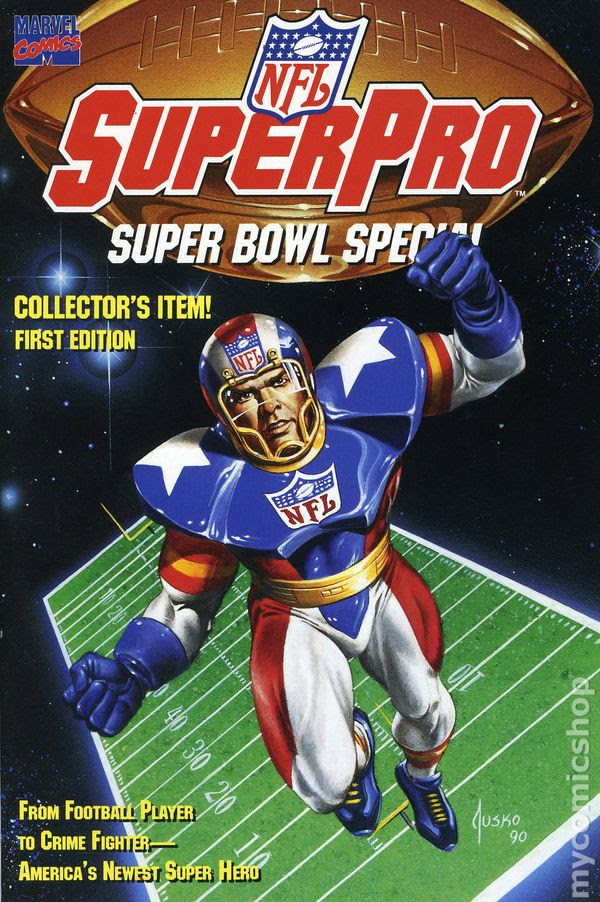 NFL SuperPro 03/1991 Super Bowl Special comic books