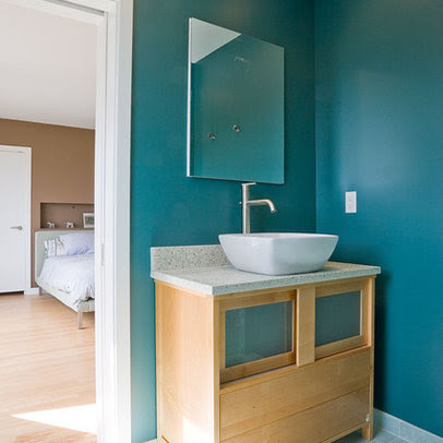 Bathroom teal aqua Design Ideas, Pictures, Remodel and Decor