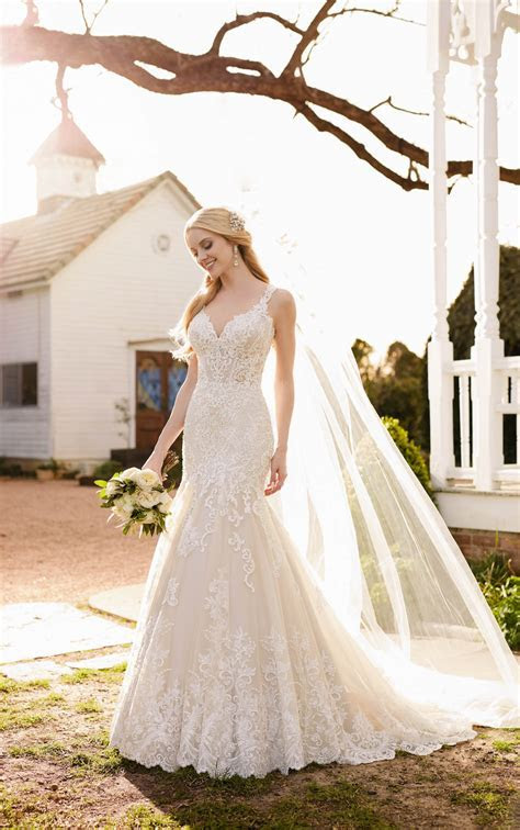 Wedding Dresses   Luxe Vintage Wedding Gown   Martina Liana