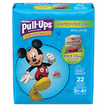 Kimberly Clark 45141 Pull-Ups Learning Designs Potty Training Pants for Boys Size 3T-4T