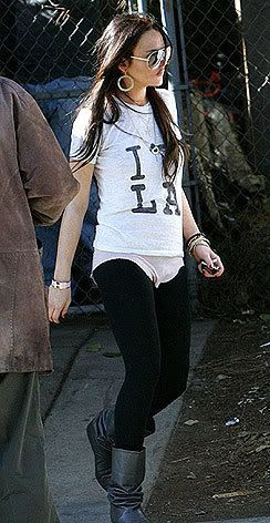 Lindsay Lohan Wearing The Secession