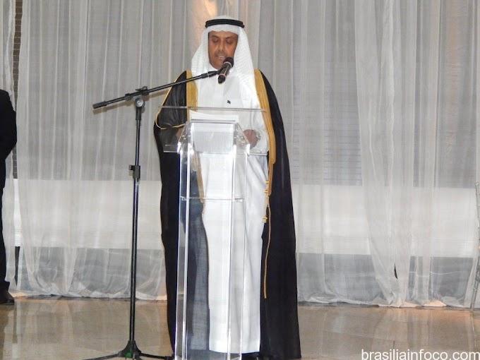 Internacional: Arábia Saudita comemora Data Nacional em Brasília e embaixador reitera as excelentes relações com o Brasil