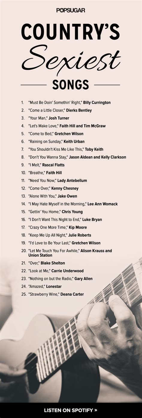 Country Love Songs   Playlists   POPSUGAR Love & Sex