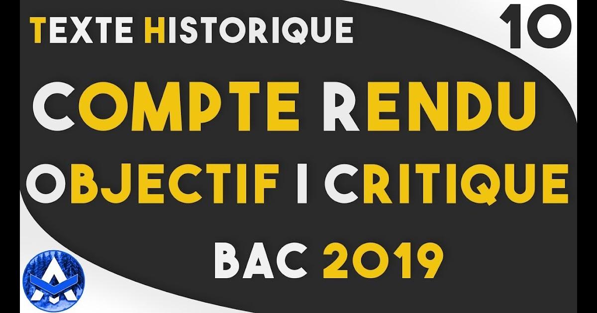 Compte Rendu Objectif Du Texte La Population Urbaine En Algerie