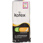 U by Kotex Lightdays Liner, Long 16 ea by Pharmapacks