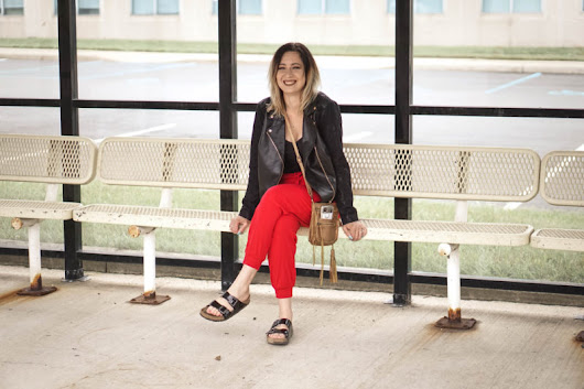 Travel Series: Traveling Outfit No. 1 - Jersey Girl, Texan Heart