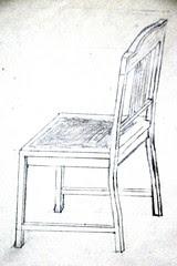 Alter Stuhl by Joachim S. Müller