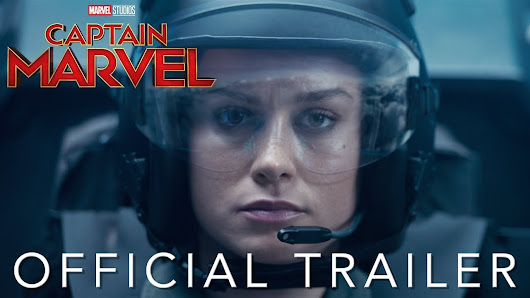First Captain Marvel Trailer - FBTB