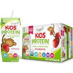 Orgain Healthy Kids Organic Nutritional Shake, Strawberry - 12 pack, 8.25 fl oz cartons