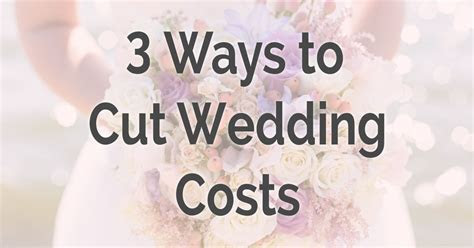 3 Ways to Cut Wedding Costs   Lumin8 Events