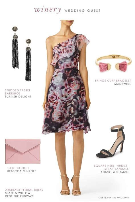 What to Wear to a Winery Wedding   Wedding Guest Dresses