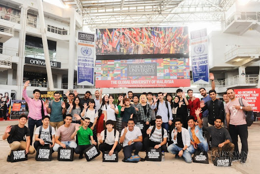 """The atmosphere here is electrifying"" @ Limkokwing University of Creative Technology"