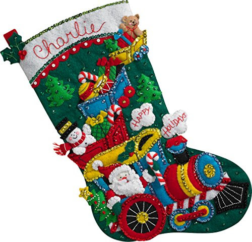 Adorable Bucilla Christmas Stocking Kits