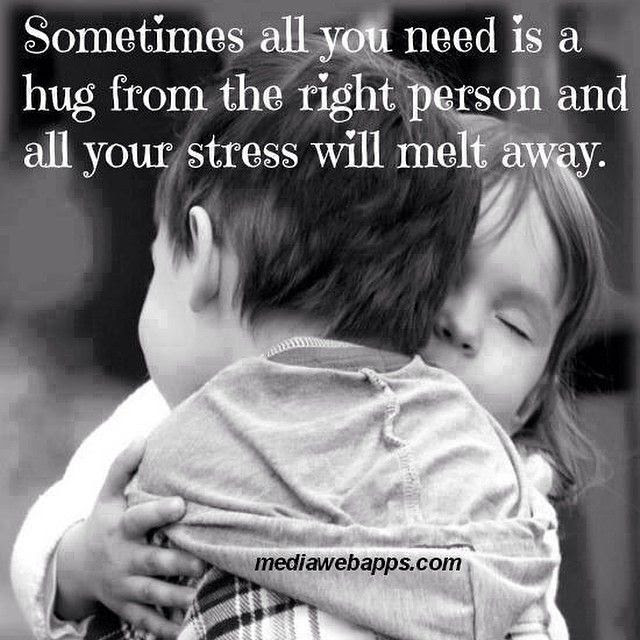 Sometimes All You Need Is A Hug Pictures Photos And Images For
