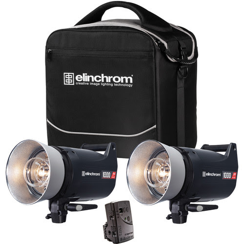 Elinchrom ELC Pro HD 1000/1000 To Go 2 Light Kit