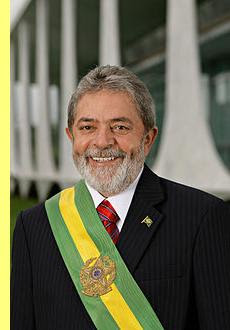 Foto oficial do presidente Lula