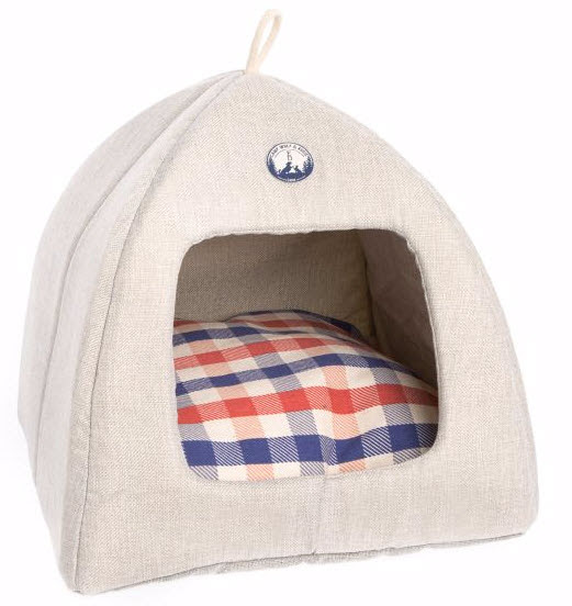 Ellen DeGeneres Camp Hut Pet Bed