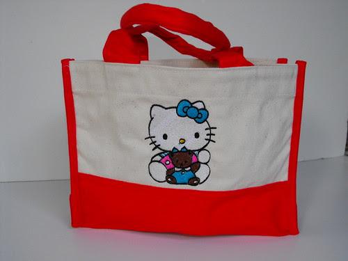 Kitty - Small Canvas Bag