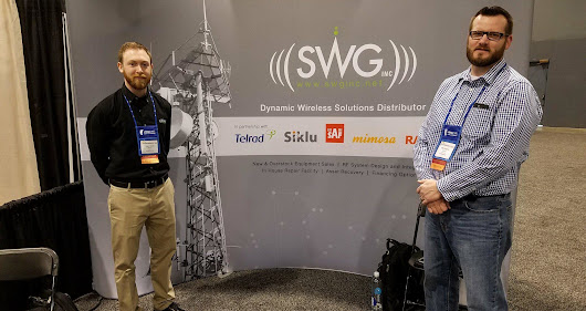 SWG, Inc.'s Time at WISPAMERICA 2018 | SWG, Inc.