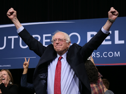 Media: Bernie Sanders is Currently Winning the Democratic Primary Race