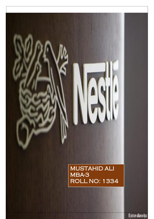 Nestle ad campaign and brand equity