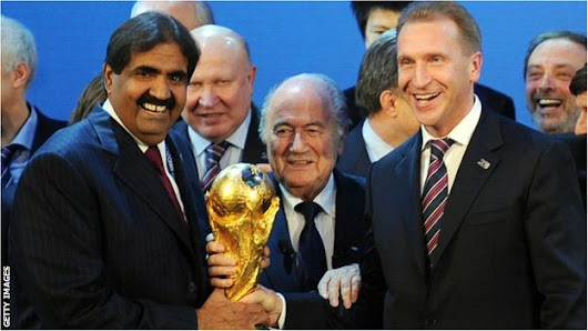 BBC Sport - 'Russia & Qatar may lose World Cups' - Fifa official